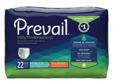 Procare Adult Absorbent Underwear Procare� Pull On Medium Disposable Moderate