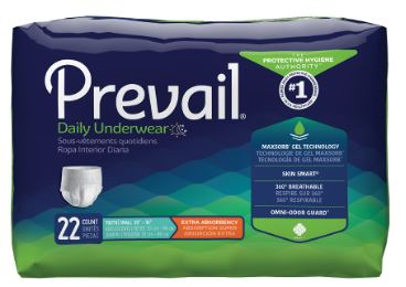 Procareadult Absorbent Underwear Procare� Pull On X-Large Disposable Moderate