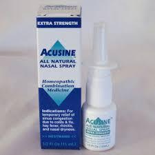 Acusine Nasal Spray Homeopathic .5 Fz