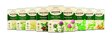 Image 2 of Alvita Tea Organic(95%) Herbal Tumeric 24 Bag