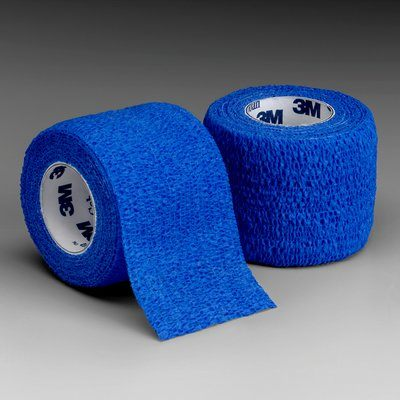 Coban 1 X 5 Yards Blue Self Adher