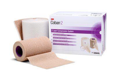 Coban W/Nylon Stocking 2 Layer Comp