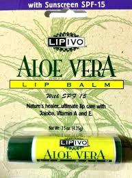 Lip Ivo With Aloe Vera Lip Balm 12X.15 Oz Blister Pack