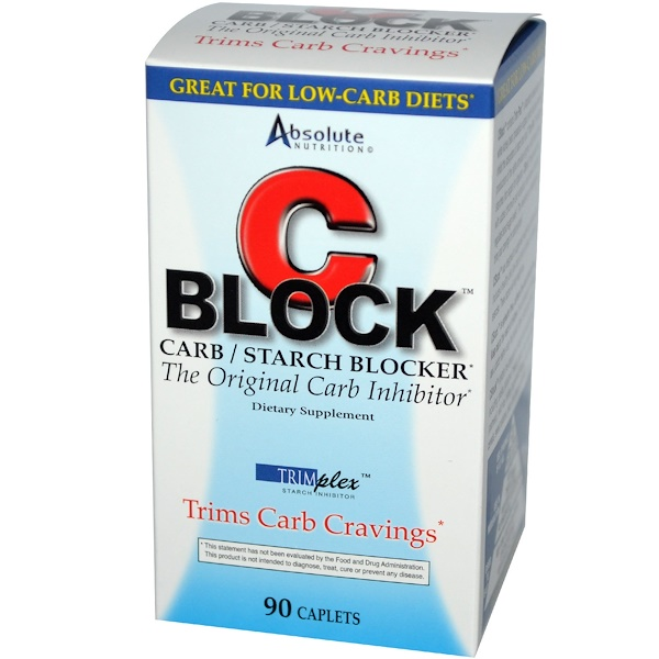 Absolute Nutrition C Block Carbo Inhibitor 90 Ct