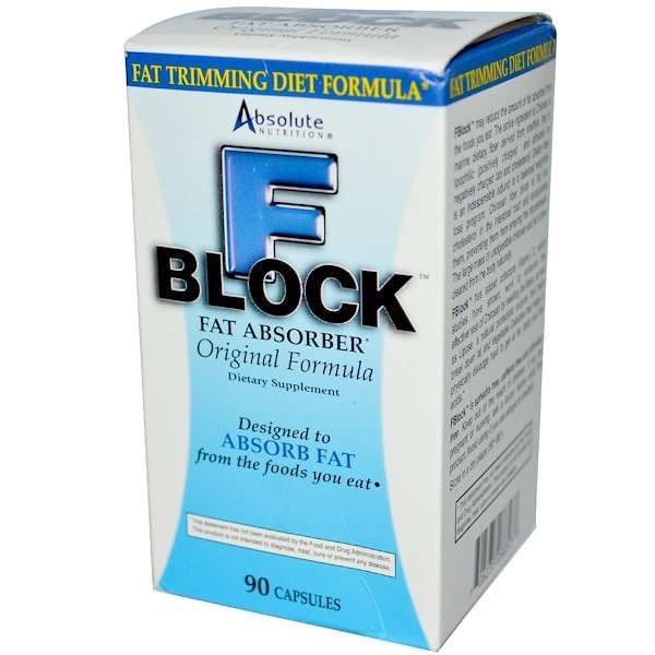 Absolute Nutrition Fblock W/Chitosan 90 Cap