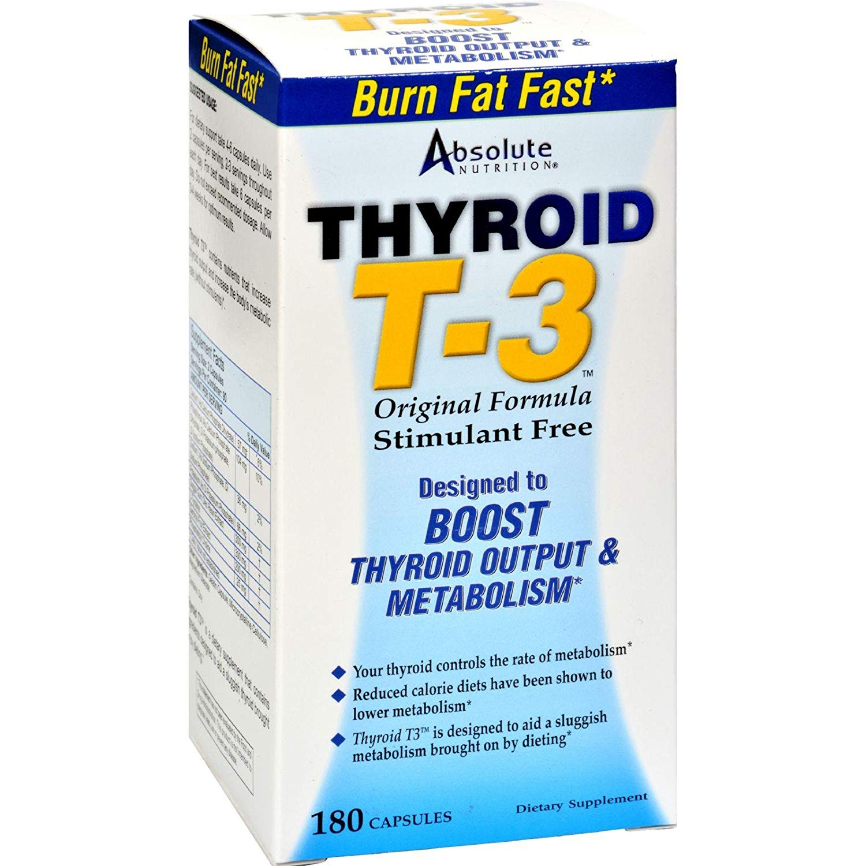 Absolute Nutrition Thyrox Thyroid Enhancer 180 Ct