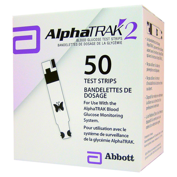 Alphatrak Test Strips 50 Strip By Abbott Pet OTC(Vet)