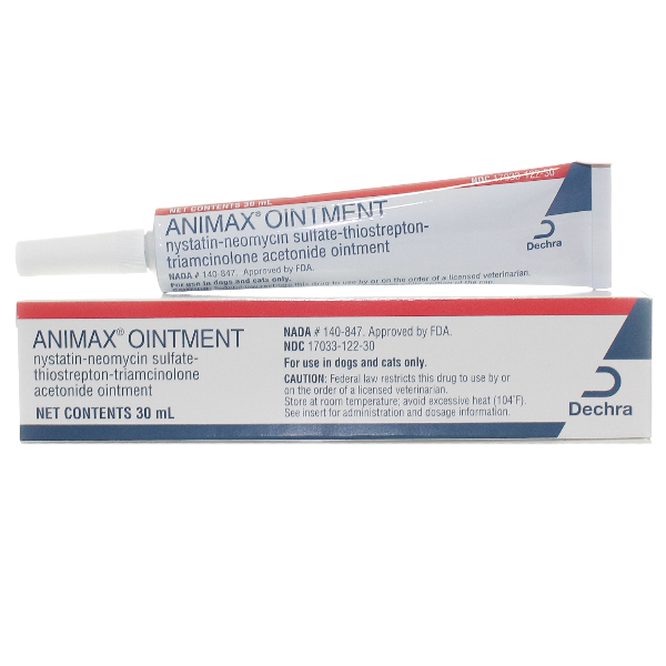 Animax Ointment 30ml 30ml Ointment By Dechra Pet Rx(Vet)