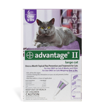 Advantage Cat 9+ Lb #4 OTC 4 Sl By Bayer Pet Otc(Vet)