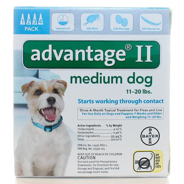 Advantage Dog 11-20 Lb #4 OTC 4 Sl By Bayer Pet Otc(Vet)