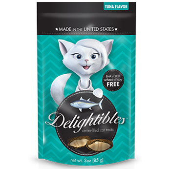 Delightibles Tuna 3 oz By Trurx Otc(Vet)