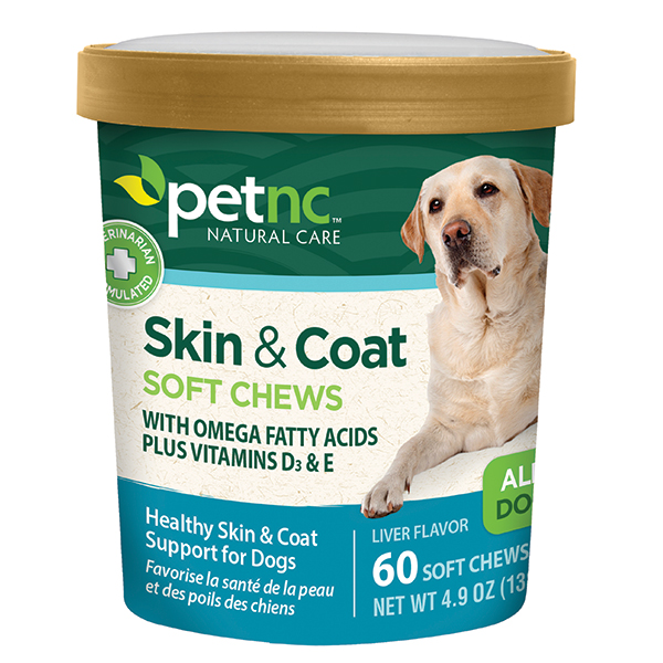 '.Dog Skin & Coat Soft Chews 60 Tab By 21s.'