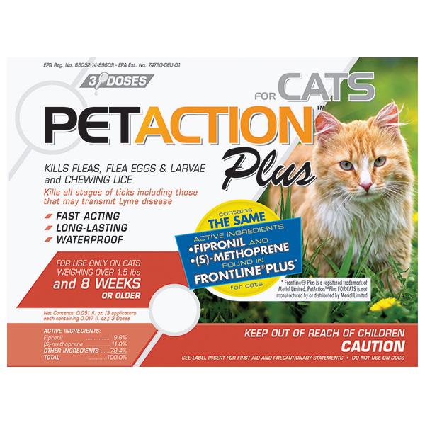 '.Frontline Plus For Cats 3 Sl By Klocke V.'