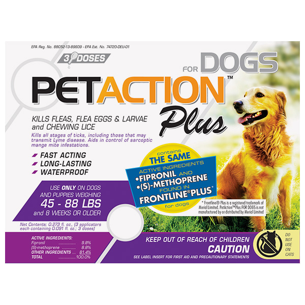 Frontline Plus For Dogs 3 Sl By Klocke Verpackungs Service Otc(Vet)