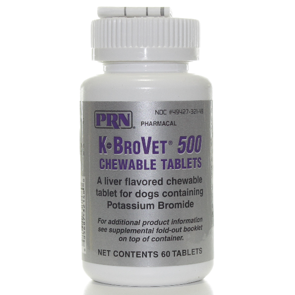 K-Brovet Chew Tab 500mg 60# 60 Tab By Prn Pet Rx(Vet)