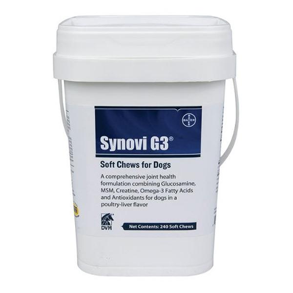 Synovi G3 Soft Chews OTC 240 Chewable By Nutro Pet Otc(Vet)