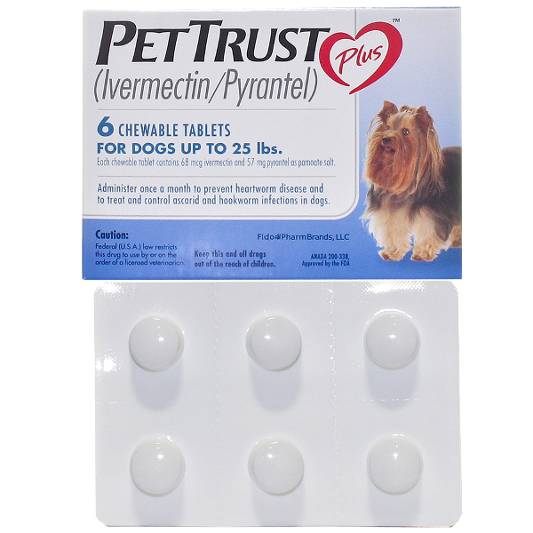 Pet Trust Plus O-25 6# 6 Tab By Sergeant's Pet Care Rx(Vet)