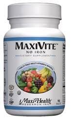Maxi Health Kosher Vitamins Maxivite One-A-Day 90 Tab