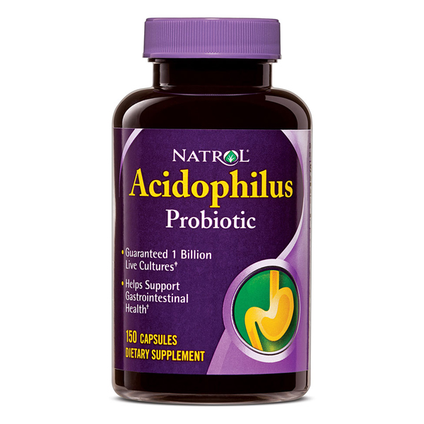 Natrol Acidophilus 100Mg Valu Size  150 Cap
