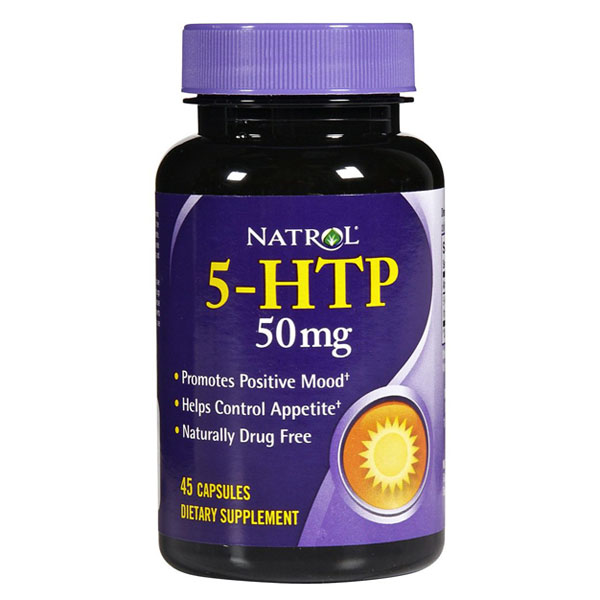 Natrol 5-Htp 50Mg 45 Cap