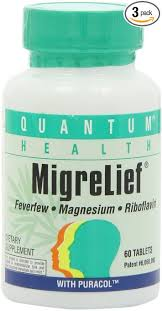 Migrelief, Tablets - 60 tablets by Quantum Health
