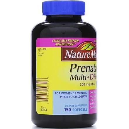 Nature Made Prenatal Multi Dha  Softgels