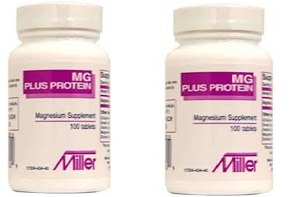 mg Plus Protein Magnesium Tab 100 Tablets X 2 Bottle Bogo DEAl
