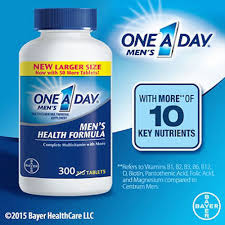 One-A-Day Men Multivitamin 300 Tablets
