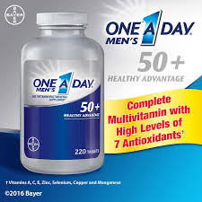 One-A-Day Men's 50+ Multivitamin, 220 Tablets