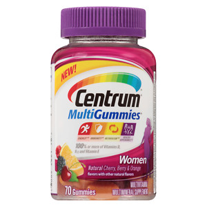 Centrum Multigummies Women 70 Ct