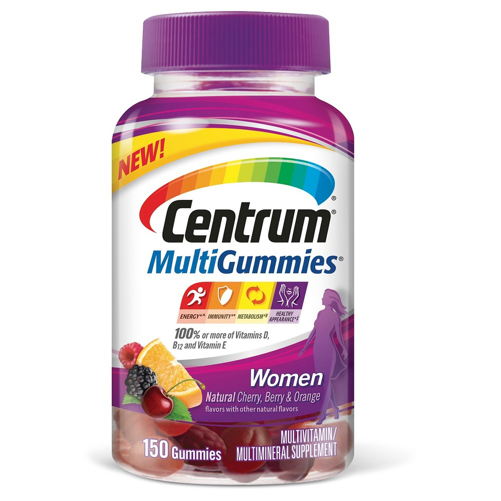 Centrum Multigummies Women 150 Ct