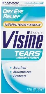 Visine Dry Eye Relief Lubricant Eye Drops - 0.5 Fl oz Bottle