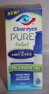 Clear Eyes Eye Drops, Lubricant - 0.3 fl oz