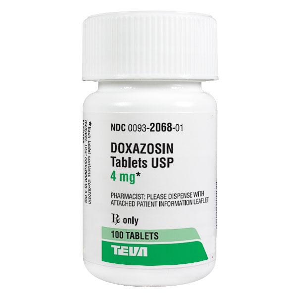 Doxazosin 4mg Tab 100 by Teva Pharma