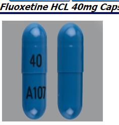 RX ITEM-Fluoxetine 40Mg Cap 100 By Alembic Pharma