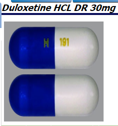 RX ITEM-Duloxetine 30Mg Cap 30 By Camber Pharma