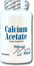 Dialyvite Calcium Acetate 200 Tablet By Hillestad Pharma
