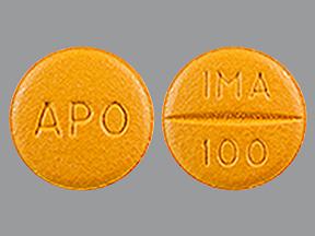 RX ITEM-Imatinib Mesylate 100Mg Tab 90 By Apotex