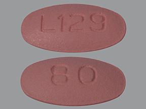 RX ITEM-Valsartan 80Mg Tab 500 By Alembic Pharma