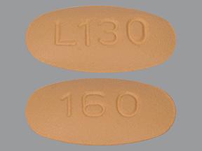 RX ITEM-Valsartan 160Mg Tab 500 By Alembic Pharma