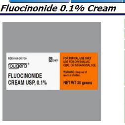 RX ITEM-Fluocinonide 0.1% Cream 30Gm By Sandoz Pharma