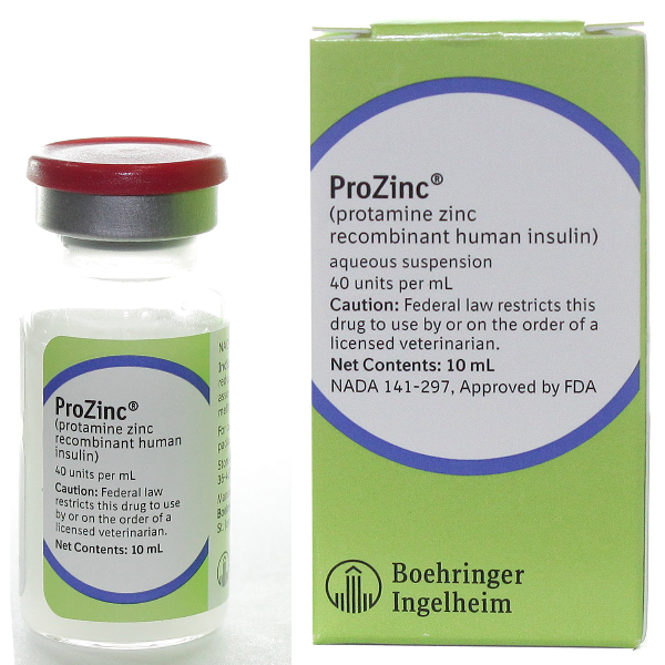 RX ITEM-Prozinc Insulin Vet 10Ml By Bohringer Pet