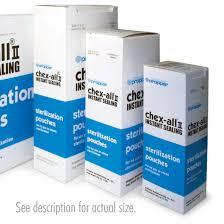 Chexall Heat Seal Sterilization Tube 12 X100' Roll Each By Propper