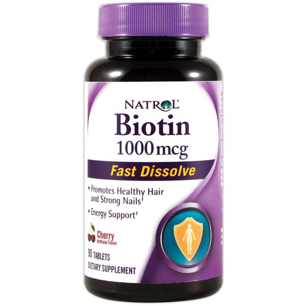 Natrol Biotin 1000Mcg Fast Dissolve 60 Tab