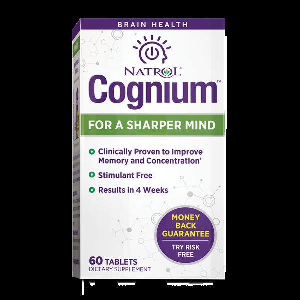 Natrol Cognium Brain Health Tablets 60Ct Natrol