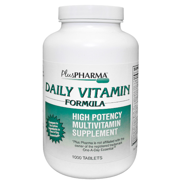 Daily Vitamin Formula 1000 Tab By Plus Pharma Generic One-A-Day