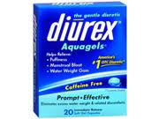 Diurex Aquagels 20-Count Caffeine-Free Multi-Symptom Soft Gel Cap (12 Box)