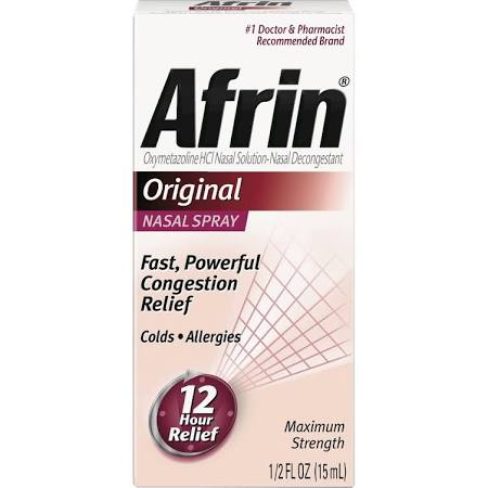 Afrin Original Pump 15ml