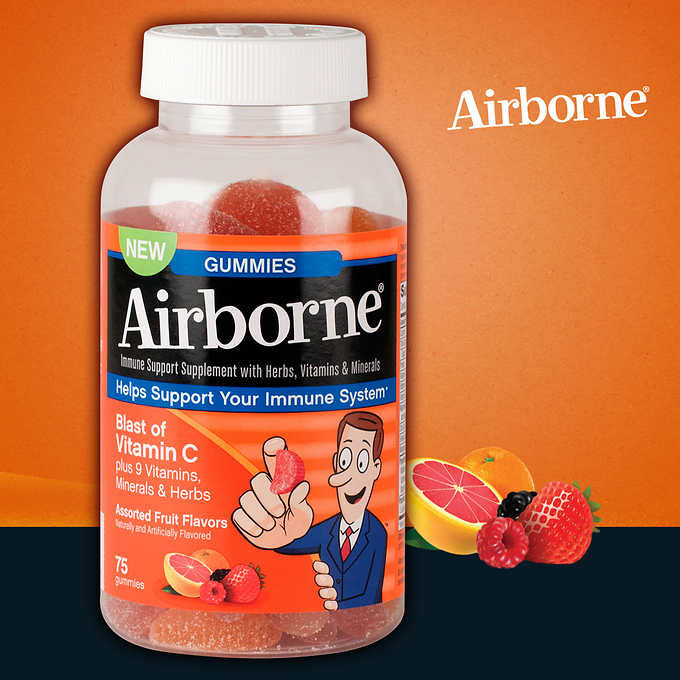 Airborne Immune Support Gummy 75Ct