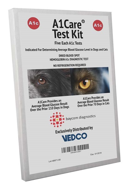 A1 Care Test Kit By Vedco Pet Otc(Vet)
